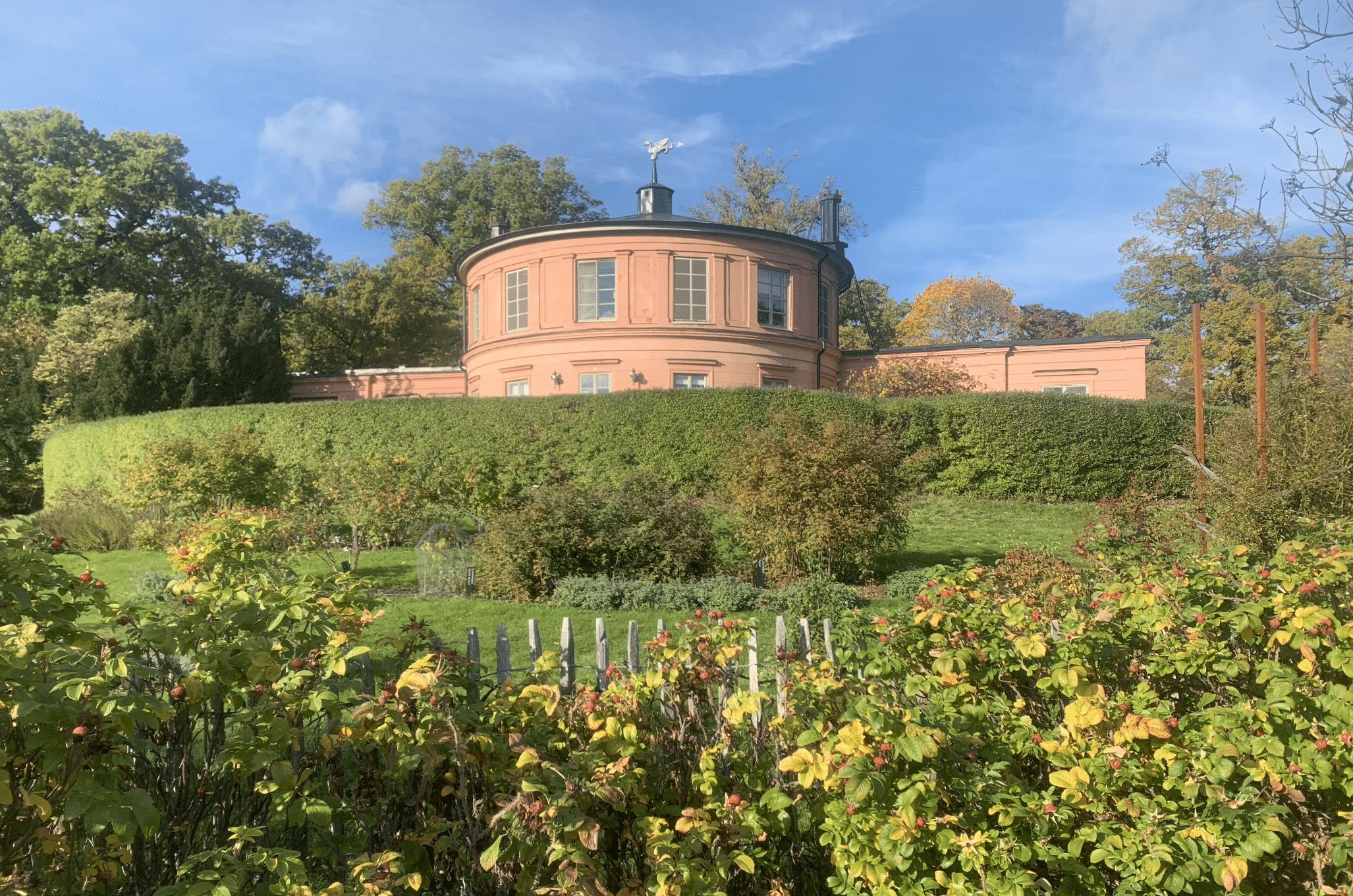 les jardins botaniques de djurgarden