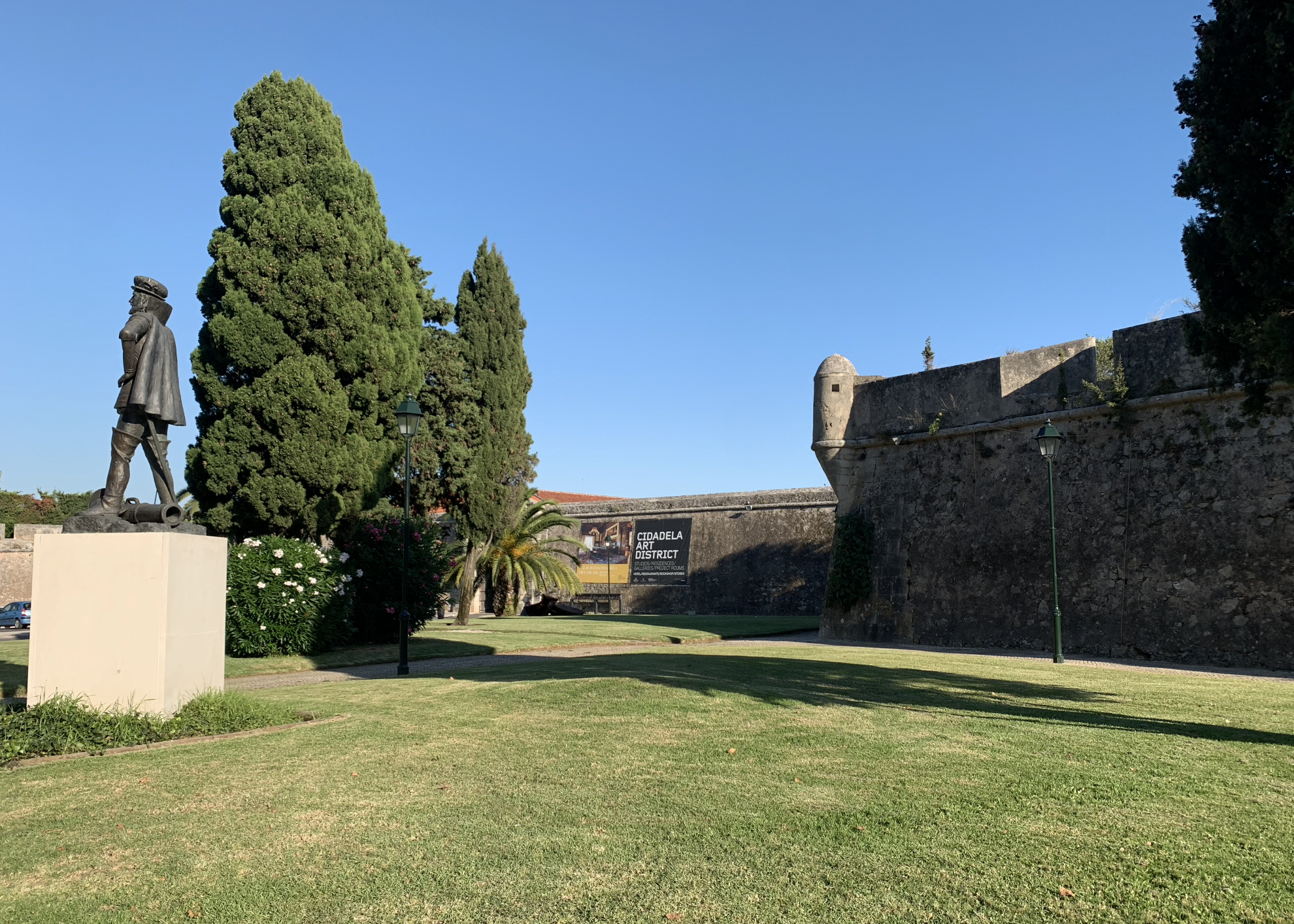 fortifications de la citadelle de cascais