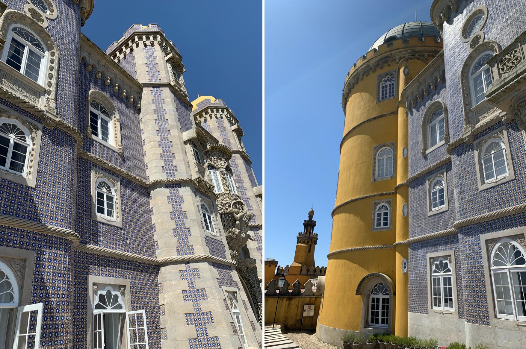 excursions depuis lisbonne : visiter le palais national de pena
