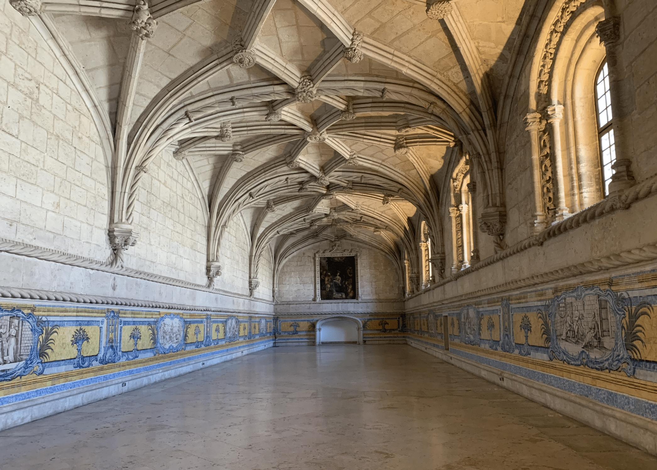 salle capitulaire du monastere des hieronymites