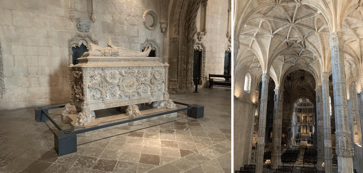 interieur de l'eglise sainte marie de belem