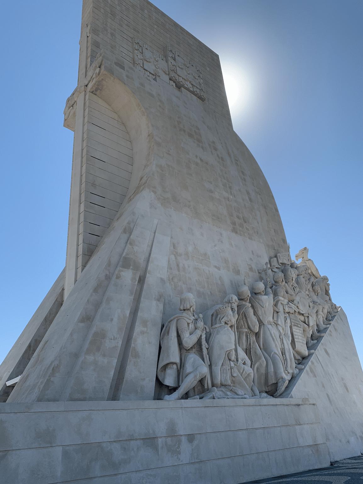 monument aux decouvertes a lisbonne