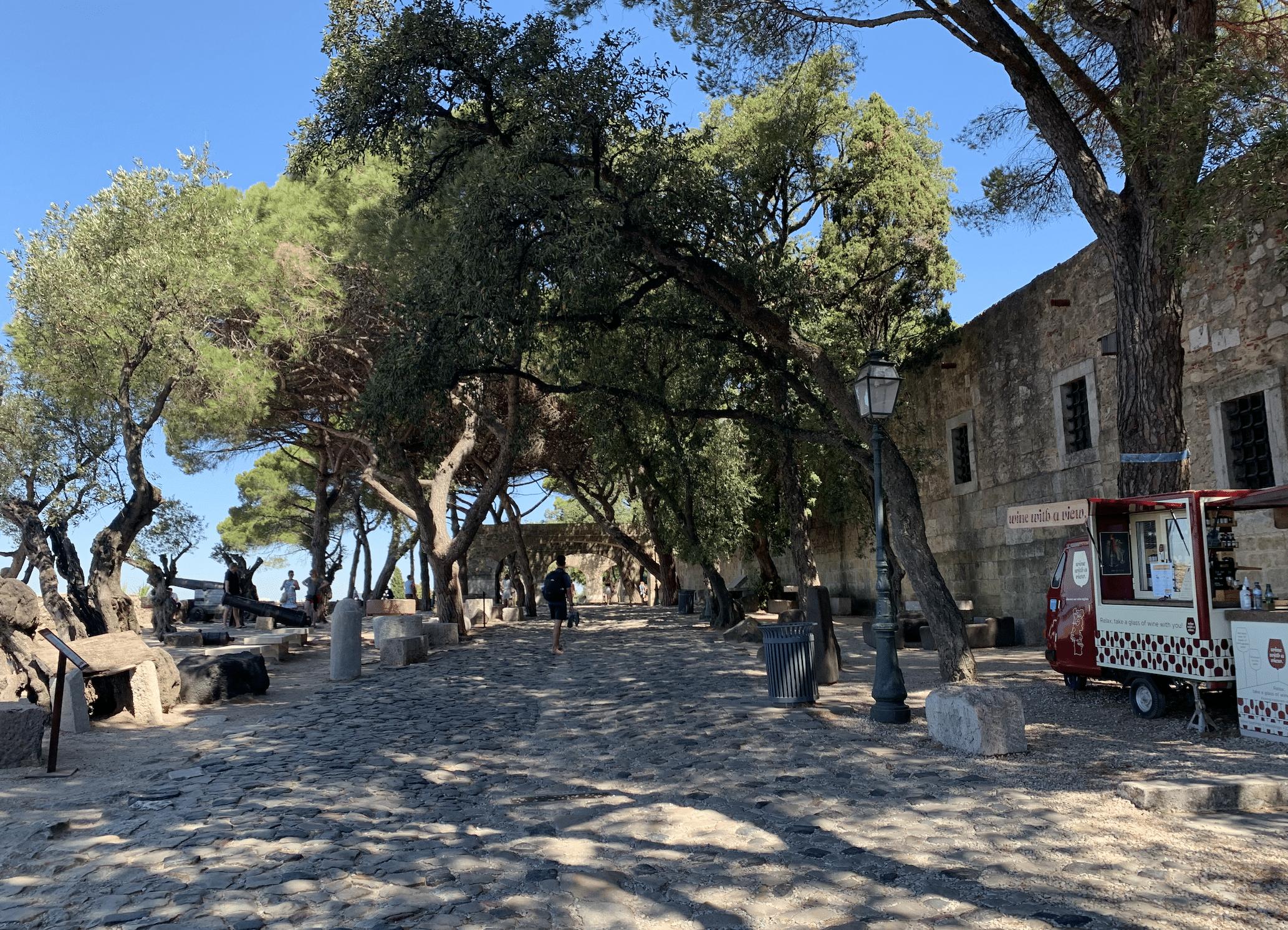 que faire a lisbonne : le chateau saint georges