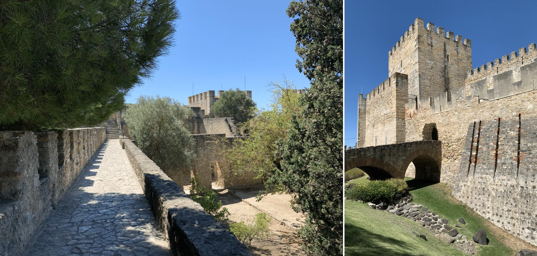 remparts du chateau saint georges