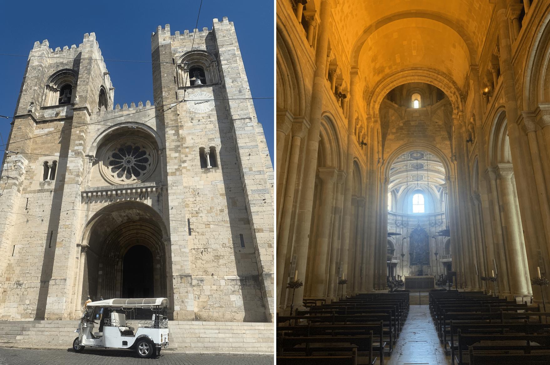 que faire a lisbonne : la cathedrale se